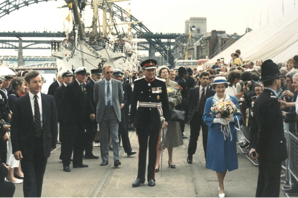 Her Majesty The Queen Visits the Tall Ships