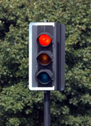 An image of traffic lights