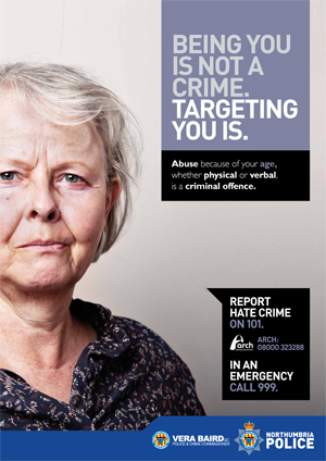 Hate crime poster 1